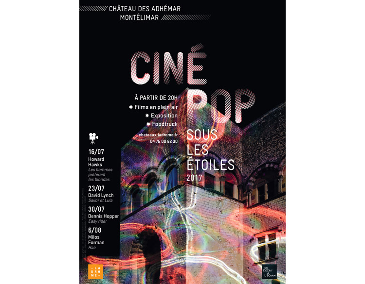 Ciné pop sous les étoiles